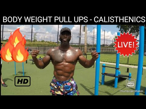 """""""Broly Gainz"""" - 29 Yrs - (PULL UPS TUTORIAL) --- LINCOLN PARK --- JERSEY CITY, NEW JERSEY"""