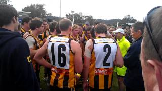preview picture of video 'Mick Caruso's 3 Quarter Time Speech - OMFNL - Wangaratta Rovers vs Albury Tigers'