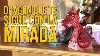 Cómo hacer un dragón que te sigue con la mirada (Experimentos Caseros)