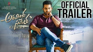 Aravindha Sametha Telugu Movie Theatrical Trailer 2018