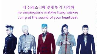Big Bang - Fantastic Baby [Eng+Rom+Han] Lyrics