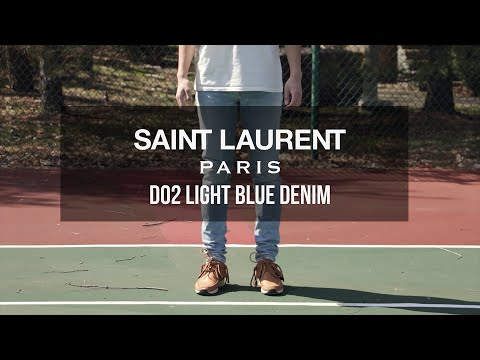 A Closer Look at: Saint Laurent Paris D02 Denim