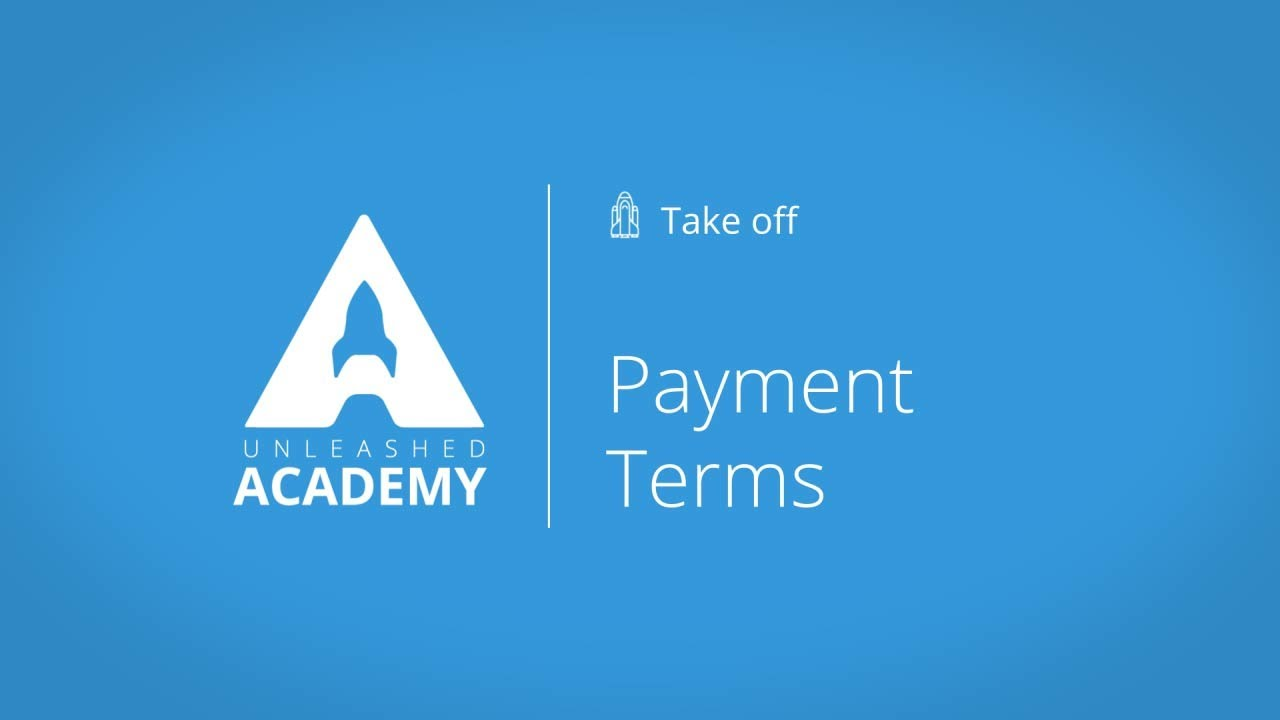 Payment Terms YouTube thumbnail image