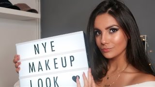New Years Eve Glam Makeup Tutorial 2017  Nicole Corrales