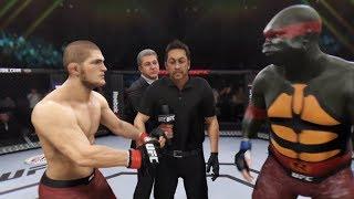 Khabib Nurmagamedov vs. TMNT Raphael (EA sports UFC 3) - CPU vs. CPU