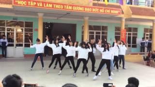 11A6 THPT Mê Linh - Hà Nội nhảy dân vũ hiện đại Bang Bang Bang (giải nhất)
