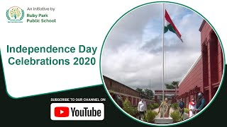 Students Celebrate 74th Independence Day 2020 | National Flag Unfurled At Ruby Park Public School Thumbnail