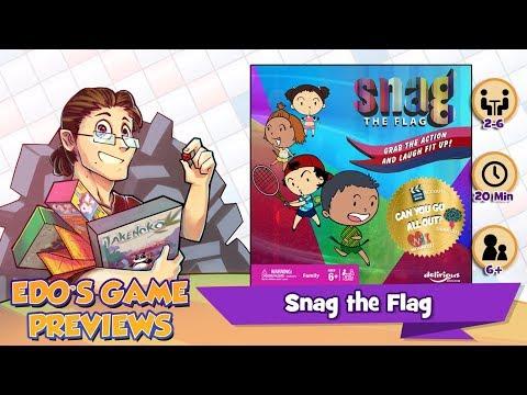 Edo's Snag the Flag Review (KS Preview)