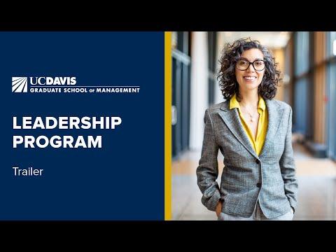 UC Davis Leadership Program | Trailer