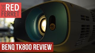 BenQ TK 800   Affordable 4K HDR Projector For Bright Rooms! (Review)