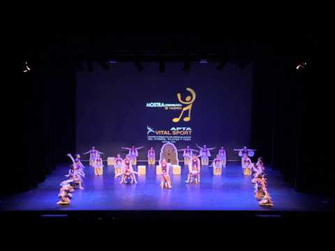 Mostra coreográfica de Valencia 2014 - Club de Fitness Sedaví - Fit Kid