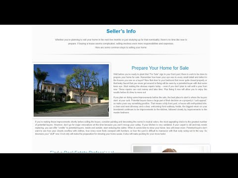 How to Edit the Seller's Info and Buyer's Info Pages