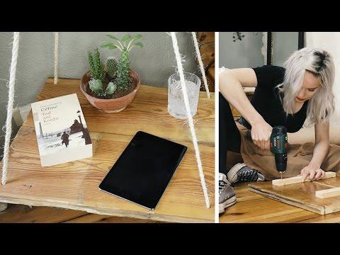 Hängender Nachttisch #4 MAKE OVER Schlafzimmer | DIY | Jelena