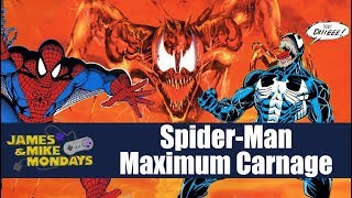 Spider-Man and Venom: Maximum Carnage (SNES) James & Mike Mondays