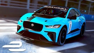 Formula E and Jaguar Launch I-PACE eTROPHY Support Series!