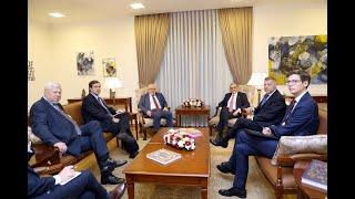 Rencontre du ministre des Affaires étrangères d'Arménie avec les coprésidents du Groupe de Minsk de l'OSCE