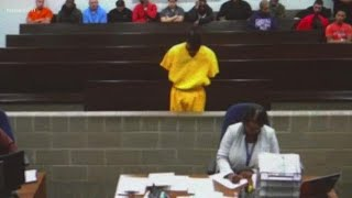 Tavores Henderson appears in court after being charged with murder