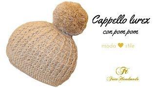 Cappellino Bimbo Uncinetto Knit Hat Crochet English Subtitles
