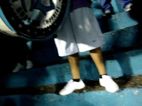 """""""Racing en Tucuman vs Atletico - La Guardia Imperial - 2010"""" Barra: La Guardia Imperial • Club: Racing Club • País: Argentina"""