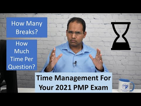 How to Manage Your Time on the 2021 PMP Exam - YouTube