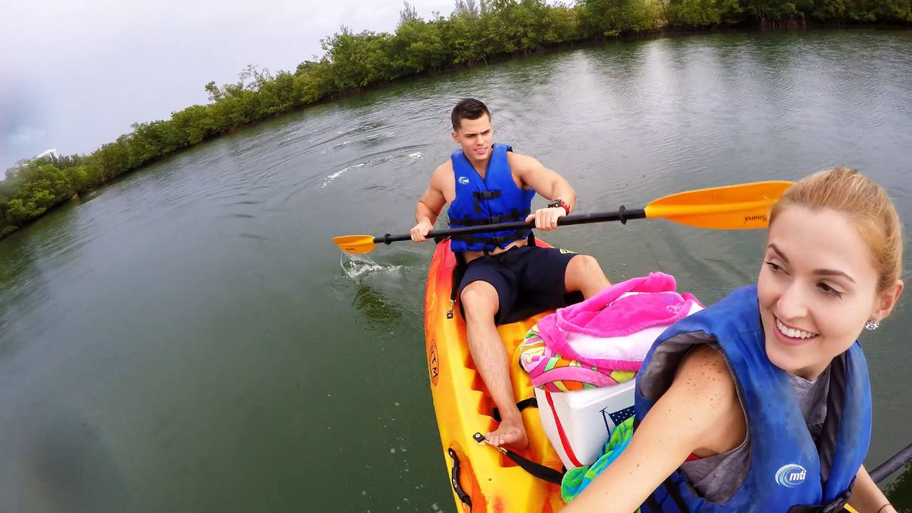 Kayak through the Oleta River State Park