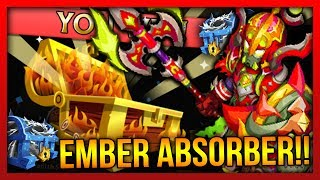 Knights and Dragons - Massive 100+ Chests Opening!! Ember Absorber, Nautical Avenger Chest, Jackpot!