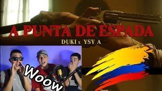 Colombianos Reaccionan A DUKI X YSY A   A Punta De Espada (Video Oficial)