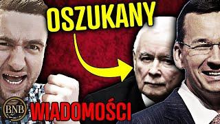 Kaczyński OSZUKANY! Morawiecki wyłamał się z PiS | WIADOMOŚCI