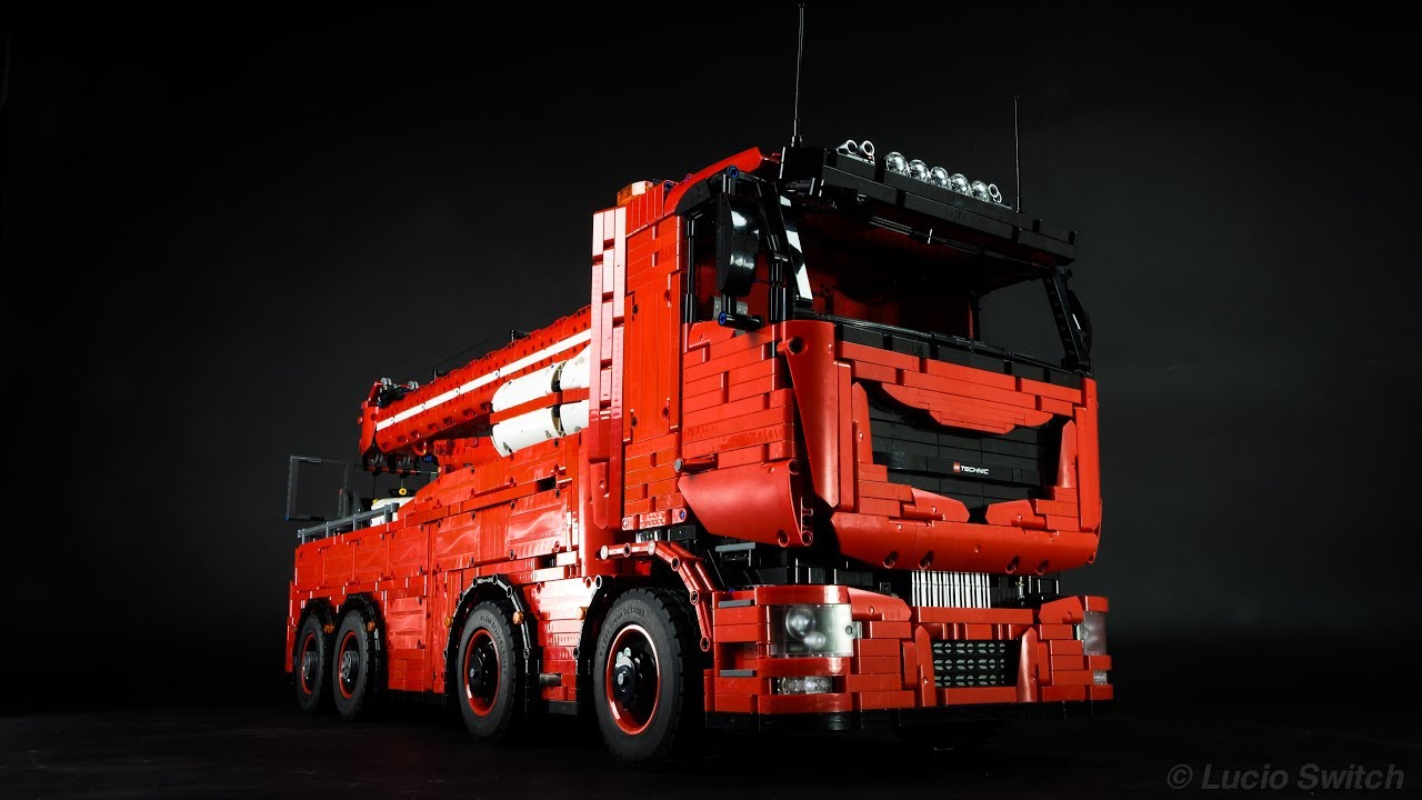 Lego Technic Tow Truck MKII