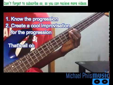 Download How To Play Nigerian Gospel Praise Songs On The Bass Guitar HD Mp4 3GP Video and MP3