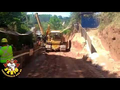 Morador filma Sistema Produtor São Lourenço acabando com a paz dos moradores do Bairro da Sama