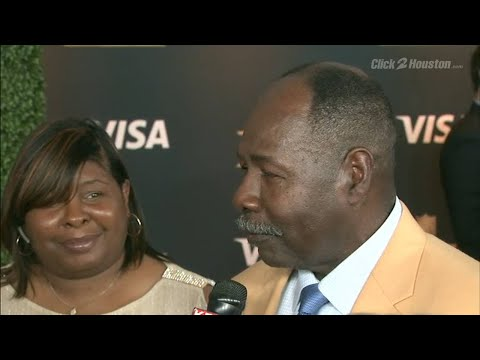 NFL honors award red carpet interview with Emmett Thomas