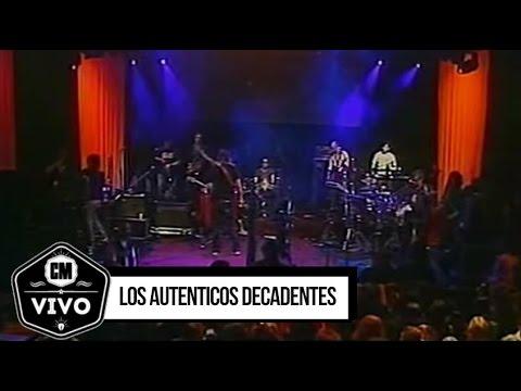 Los Auténticos Decadentes video CM Vivo 2009 - Show Completo