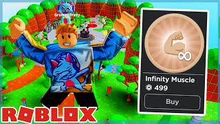 Buying Infinite Muscle Gamepass In Roblox Buff Simulator