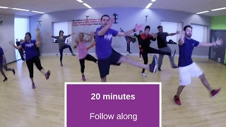 25 minute, follow along bhangra workout by Pungra Fit
