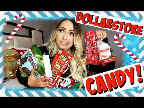 DOLLARSTORE Christmas Candy TASTE TEST!!!!