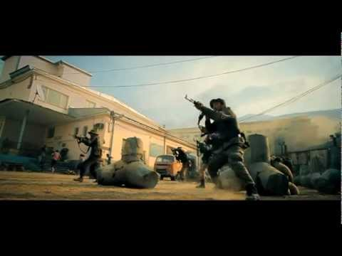 The Expendables 2 | Opening Action Scene