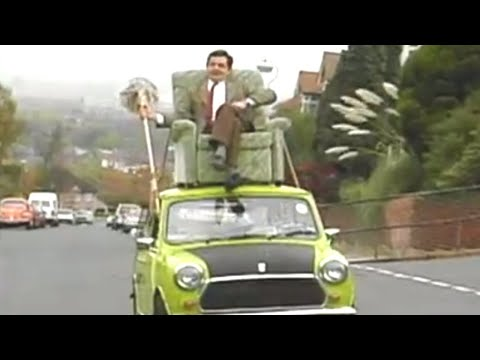 Mr. Bean Overloads His Car, Finds a Hilarious Solution!
