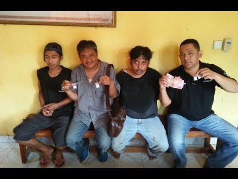 Detik-detik Polisi Tangkap Bandar Narkoba Sabu di SP 7 Simpang Perak Jaya Kerinci Kanan Siak
