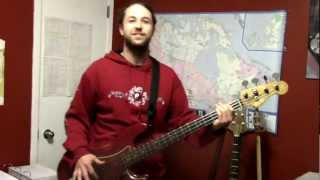 "MATHIEU LEGER PLAYS ""SHAKE AND FINGERPOP"" JUNIOR WALKER AND THE ALL-STARS (BASS COVER)"