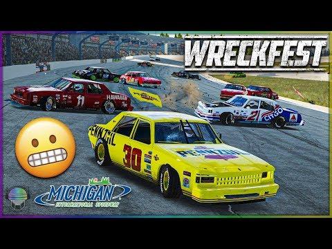 MICHIGAN MADHOUSE! | Wreckfest | NASCAR Legends