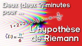 Deux (deux ?) Minutes Pour... L'hypothèse De Riemann