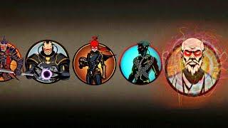 Shadow Fight 2 Team LYNX, SHOGUN And WIDOW Vs Team BUTCHER