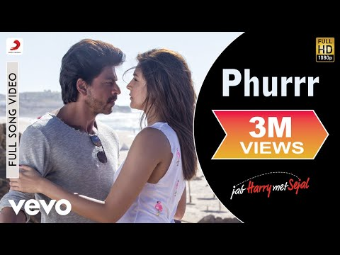 Phurrr Full Video - Jab Harry Met Sejal|Shah Rukh Khan, Anushka|Diplo & Pritam