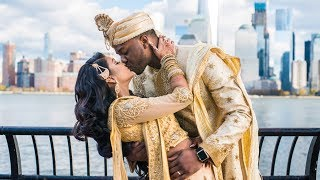 The Arijes Wedding (Interracial Wedding - African And Indian)