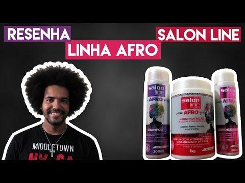 RESENHA: LINHA AFRO SALON LINE