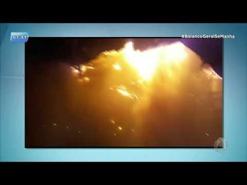 Incêndio destrói supermercado em Aquidabã - BALANÇO GERAL MANHÃ