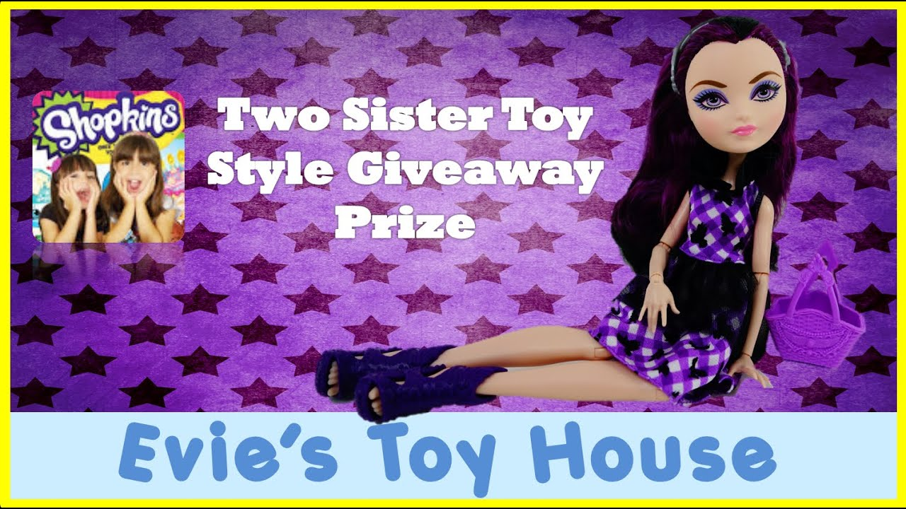 EAH Enchanted Picnic Raven Queen Doll Prize from Two Sisters Toy Style | Evies Toy House