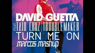 Taio Cruz feat David Guetta - TMO (MarcoS Troublemaker Mashup Edit)