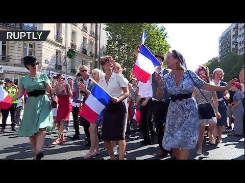 Freedom parade: Paris celebrates 75th anniversary of liberation from Nazis
